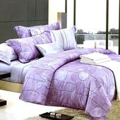 【Betrise晨曦佳人】特大-100%頂級60支長絨棉四件式兩用被床包組(被套7x8)