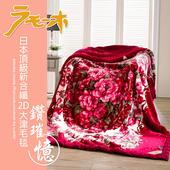 【FOCA鑽璀憶】頂極日本2D拉舍爾超細纖維雙層保暖舒毯(大尺寸180x230cm)