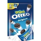 《奧利奧》迷你奧利奧巧克力夾心餅乾-香草口味(163.2g/袋)