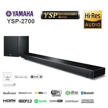 ★YAMAHA ↓限時結帳驚爆價 山葉 SoundBars 無線家庭劇院 YSP-2700