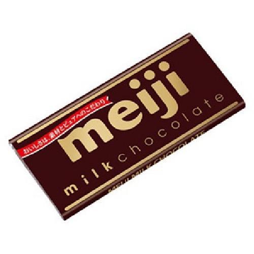 meiji 明治牛奶巧克力(片裝)(50g/片)