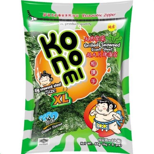 《KoNoMi》相撲手超大片烤海苔-原味(48g/包)