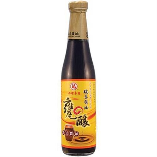 西螺瑞春 甕釀黑豆醬油(420ml/瓶)