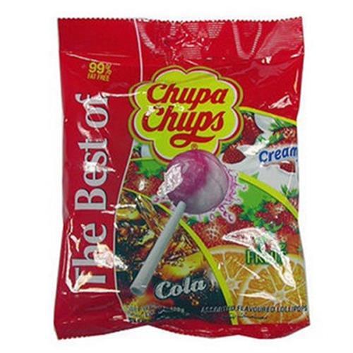 加倍佳 棒棒糖水果口味(11g*10入/袋)