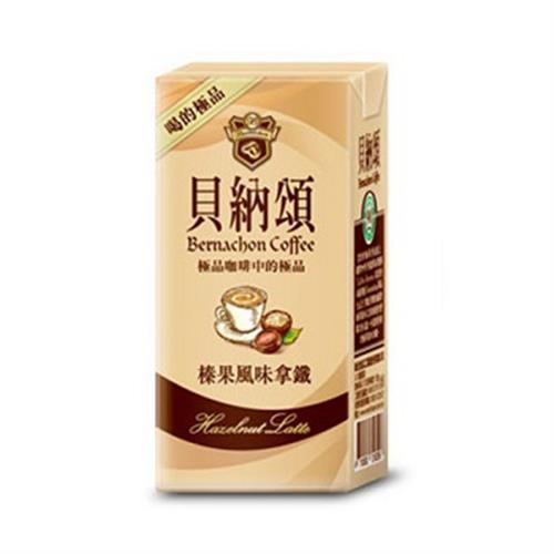 貝納頌 咖啡-榛果風味(375ml*3包/組)