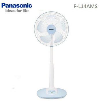 ★Panasonic ↓限時結帳折 國際牌 14吋 自然風 微電腦 電風扇 F-L14AMS(FL14AMS)