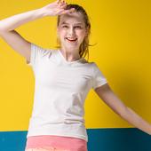 《MORINO》抗UV速乾女短袖衫 白(M)