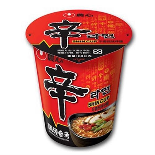 農心 辛香菇杯麵(68g)