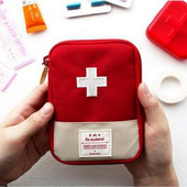 《JTourist》旅行用方便攜帶隨身急救藥包(藍/大)