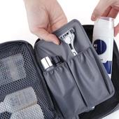 《JTourist》多功能防震盥洗包/化妝包/配件收納包(深藍)