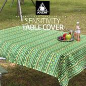 《KAZMI》經典民族風防水桌巾(綠色) #K5T3T005GN