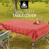 《KAZMI》經典民族風防水桌巾(紅色) #K5T3T005RD
