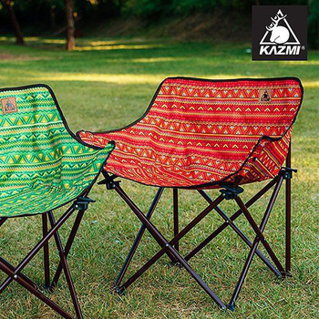 KAZMI 經典民族風休閒折疊椅(紅色) #K6T3C001RD