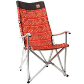 《KAZMI》豪華休閒折疊椅(紅色) #K3T3C025RD