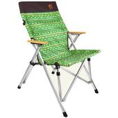 《KAZMI》經典民族風櫸木手把休閒椅(綠色) #K6T3C002GN