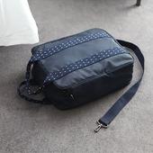 《JTourist》大容量多功能手提/肩背旅行袋(淺灰)