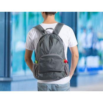 JTourist 輕巧旅行用可摺疊式後背包(藍)