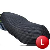 立體蜂巢式網狀機車隔熱排水座墊(L)