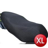 立體蜂巢式網狀機車隔熱排水座墊(XL)