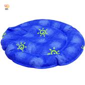 《月陽》台灣製42cm圓型多功能加厚冰墊座墊涼墊寵物墊散熱墊(713)