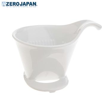 《ZERO JAPAN》典藏陶瓷咖啡漏斗(大)(白)