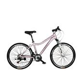 《SPORTONE》U6 26吋21速 鋁合金登山車(女性都會運動)(紫)