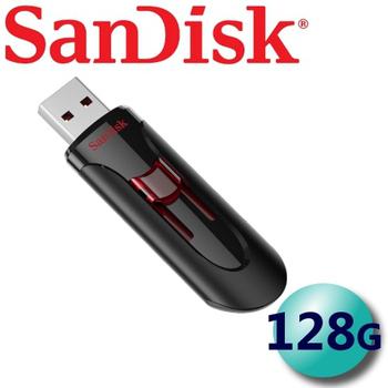 《(公司貨) SanDisk》128GB Cruzer Glide CZ600 USB3.0 隨身碟