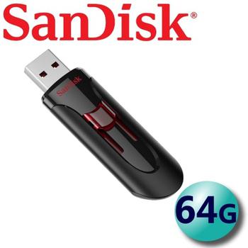 (公司貨) SanDisk 64GB Cruzer Glide CZ600 USB3.0 隨身碟