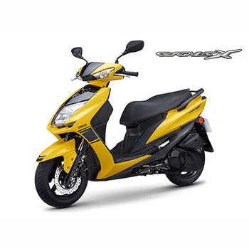 YAMAHA山葉 新勁戰CygnusX FI 125雙碟-日行燈版-2017年新車(黃深灰)
