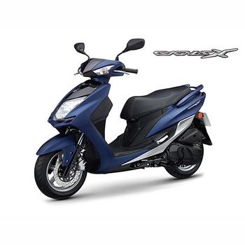 YAMAHA山葉 新勁戰CygnusX FI 125雙碟-日行燈版-2017年新車(深藍灰)