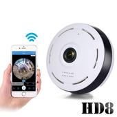 新一代迷你無線網路環景監控攝影機HD8(公司貨)