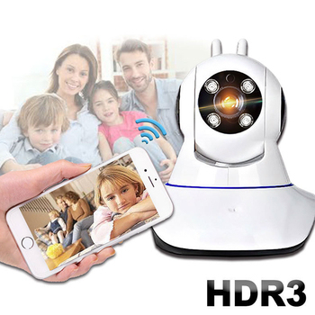 《Uta》第三代無線網路智慧旋轉監視機HDR3(公司貨)(白色)