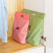 《JTourist》Q版卡通包包防水防塵收納袋(大)(麋鹿粉色)
