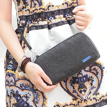 JTourist 簡約時尚高品質斜背包/單肩包/護照包/零錢包(藏青)