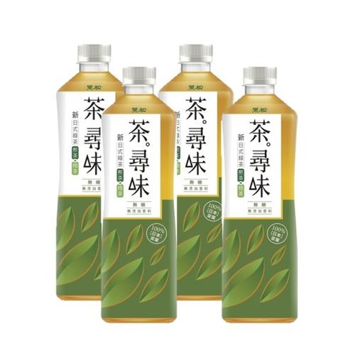 黑松 茶尋味新日式綠茶(590ml*4瓶/組)