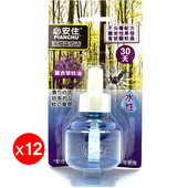 《必安住》水性液體電蚊香-薰衣草味(45ml)(12入組)