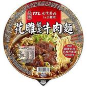 《台灣菸酒》花雕酸菜牛肉麵(200g/碗)