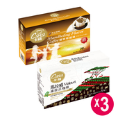 《Casa卡薩》濾掛式咖啡-曼特寧 X 馬拉威(各3盒60入)