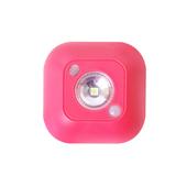馬卡龍智慧型LED紅外線感應燈-3入組(粉色)