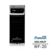 《GATEMAN》密碼/指紋智能電子門鎖WF-20(附基本安裝)