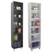 《頂堅》美背式(6格)高腳-收納櫃/書櫃/置物櫃(二色可選)(深咖啡色)