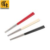 《鍋寶》巧廚#304不銹鋼筷(寶石紅)-20雙(EO-RG015RZ4)