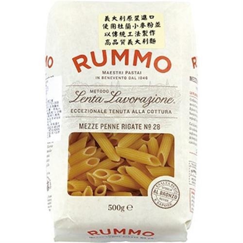 義大利 Rummo28號短型筆管麵(500g/袋)