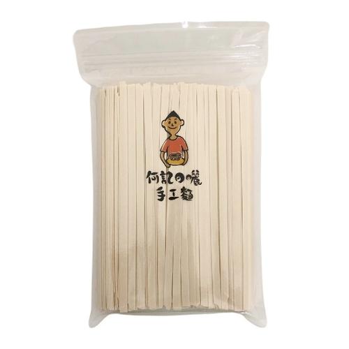 《何記》純日曬麵(寬麵-600g/包)
