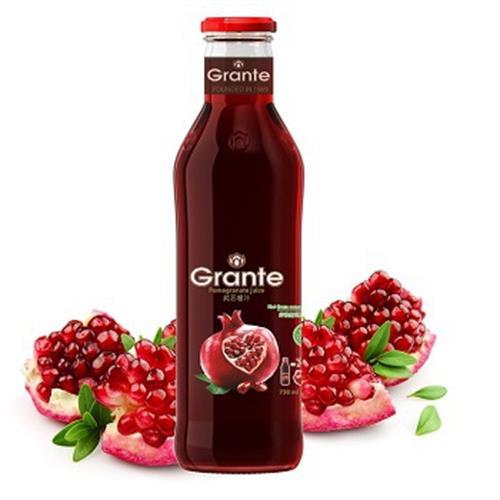 格朗特 100%純天然紅石榴汁(750ml/瓶)