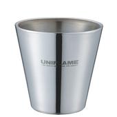 《日本 UNIFLAME》SUS雙層鋼杯 270ml 一組(2入) 組合價880元# U666272