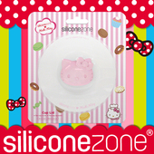 《Siliconezone》施理康Hello Kitty掛式防塵杯蓋