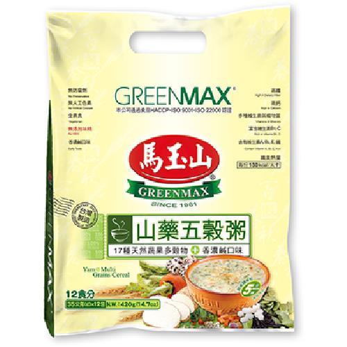 馬玉山 山藥五穀粥(35gx12小包)