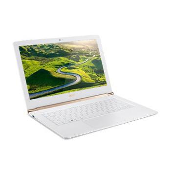 宏碁 ▼加送無線鼠▼acer S5-371 (黑/白二色)13吋輕薄機 六代i5效能/8G/256SSD/W10系統(S5-371-53NX白色)