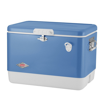 《Coleman》51L 清澈藍經典鋼甲冰箱 # CM-04937M